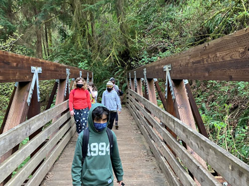 hiking cold creek middles school featured image